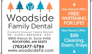 FREE Whitening for Life!