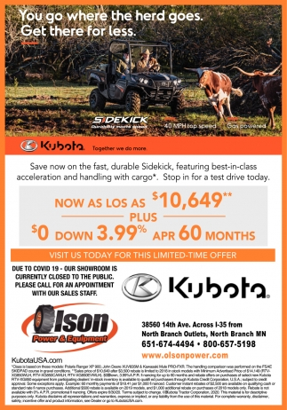 You Go Where the Herd Goes. Get there for Less