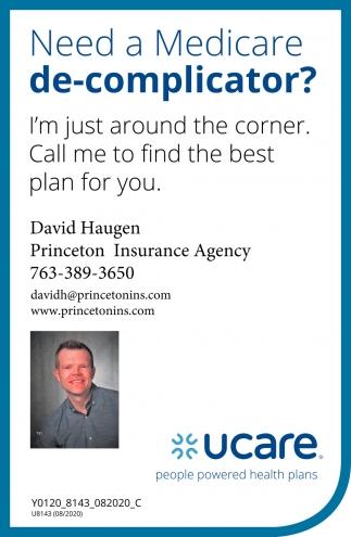 Need a Medicare De-Complicator?, Princeton Insurance ...
