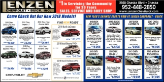 1 in Servicing The Community For 38 Years Sales, Service And Body Shop