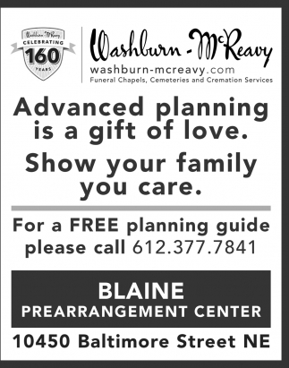 Advanced Planning is a gift of love.