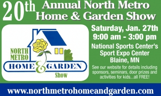 Ads For North Metro Home And Garden In Minneapolis, MN