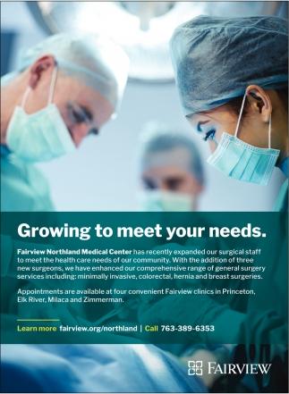 Growing To Meet Your Needs