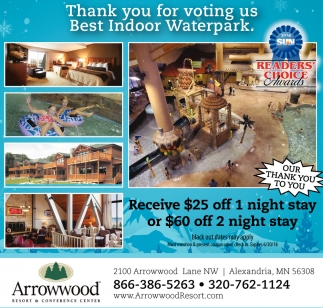 ARROWWOOD RESORT AND CONFERENCE