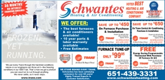 Voted Best Heating And Air Conditioning Company Schwantes Stillwater Mn