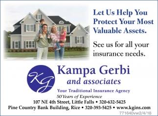 Kampa Gerbi And Associates Inc