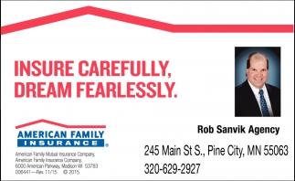Insure Carefully. Dram Fearlessly.