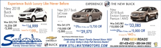 Experience Buick Luxury Like Never Before