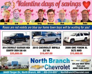 North Branch Chevrolet