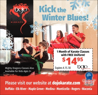 Kick the Winter Blues!