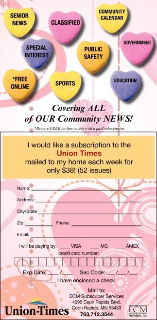 Union times