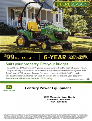 We Have a John Deere for Every Season