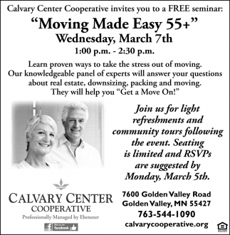 Moving Made Easy 55+