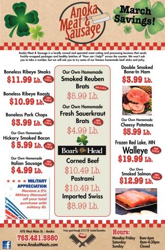January Savings!