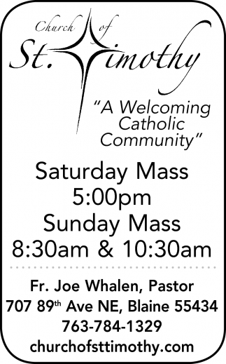 A Welcoming Catholic Community