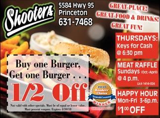 Buy One Burger