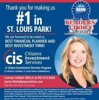 Thank you for making CIB #1 in St. Louis Park!