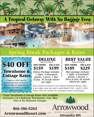 A tropical getaway with no baggage fees