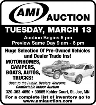 Huge Selection of Pre-Owned Vehicles and Dealer Trade Ins