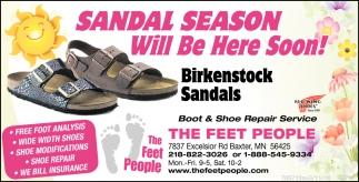 Sandal Season Will Be Here Soon!