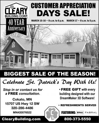 Days Sale!