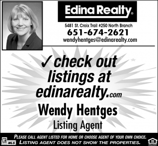 Check out listings at edinarealty.com