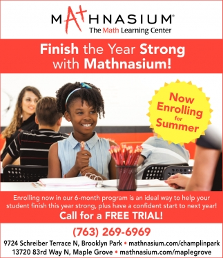 Finish the Year Strong with Mathnasium!