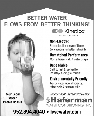 Better Water Flows From Better Thinking!