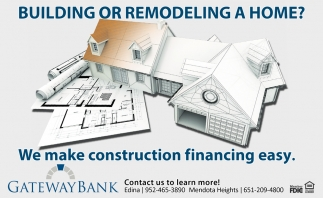 Building or Remodeling a Home?