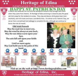Heritage Of Edina