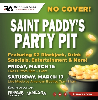 Saint Paddy's Party Pit