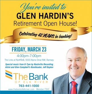 Glen Hardin's Retirement Open House!