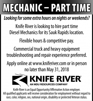 Mechanic-Part time
