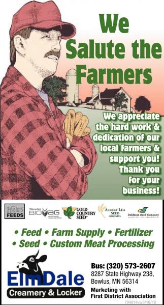 We Salute The Farmers
