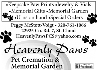 Keepsake Paw Prints