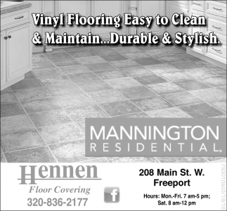 Vinyl Flooring Easy to Clean