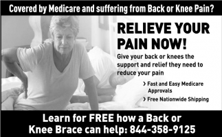 Relieve your Pain Now