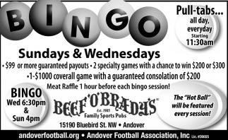 Bingo Event