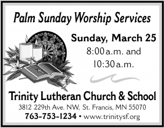 Palm Sunday Worship Services