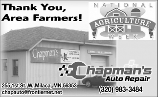 Thank You, Area Farmers!