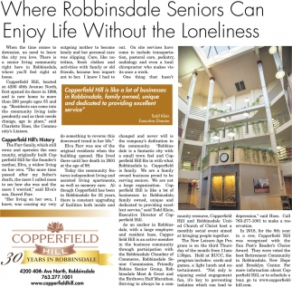 Where Robbinsdale Seniors Can Enjoy Life Without the Loneliness