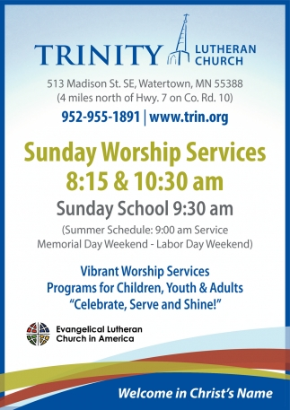 Sunday Worship Services