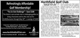 Refreshingly Affordable Golf Membership