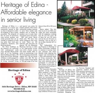 Affordable elegance in senior living