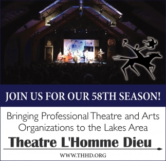 code promo 1fa48 a27ff Join us for our 58th Season!, Theatre L'Homme Dieu