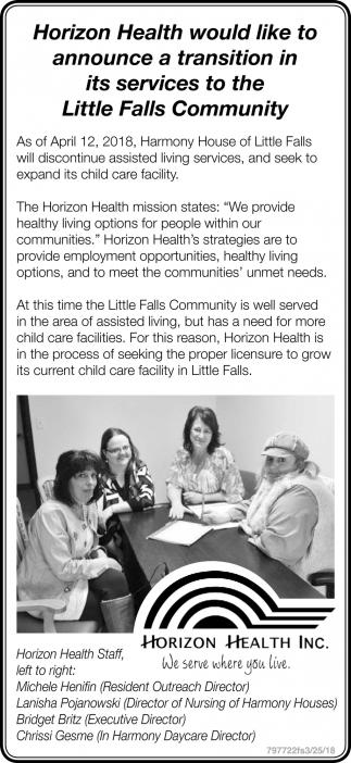 Little Falls Community