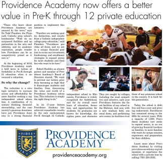 Now offers a better value in Pre-K through 12 private education