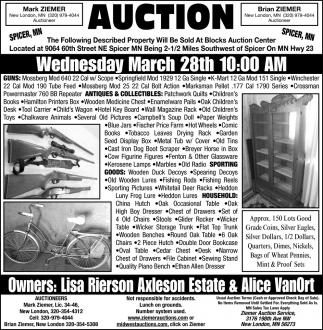 Belgrade Auction