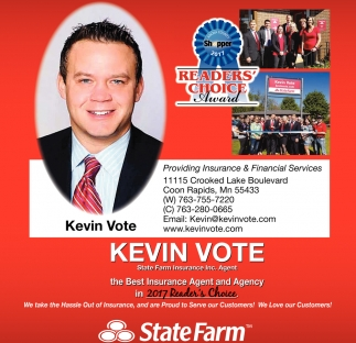 Kevin Vote State Farm Bloomington Mn