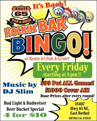 Rockin' Bar Bingo!